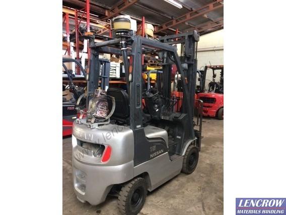 Used 1.5T Nissan Forklift