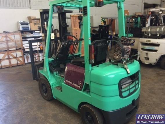 Used 1800kgs Mitsubishi Forklifft