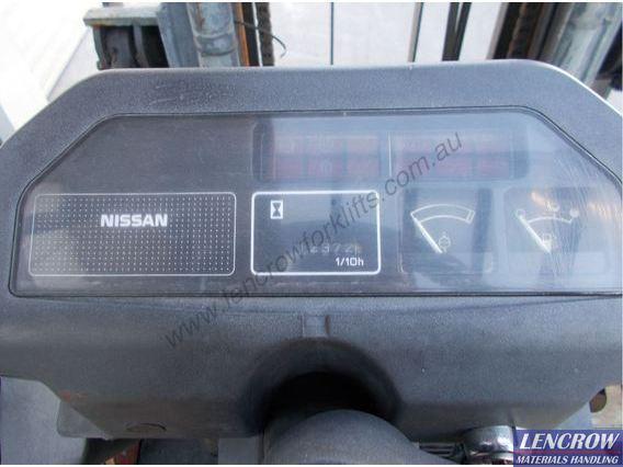 Used 1.5 Tonne Nissan Forklift