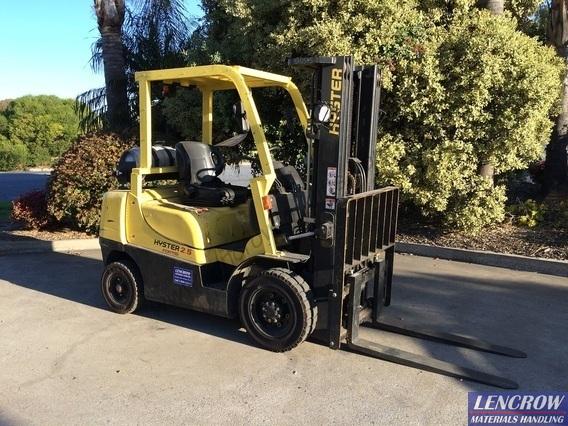 Used Hyster 2500 kg Forklift