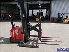 Used 1.3T Raymond Walk Behind Reach Stacker