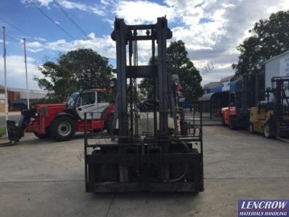 Used 7 Ton Diesel Nissan Forklift