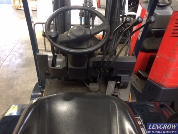Used 1.5T 3 wheel Toyota Forklift