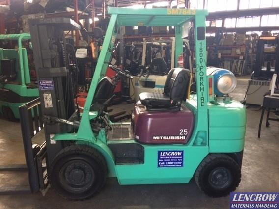 Used LPG Mitsubishi Forklift