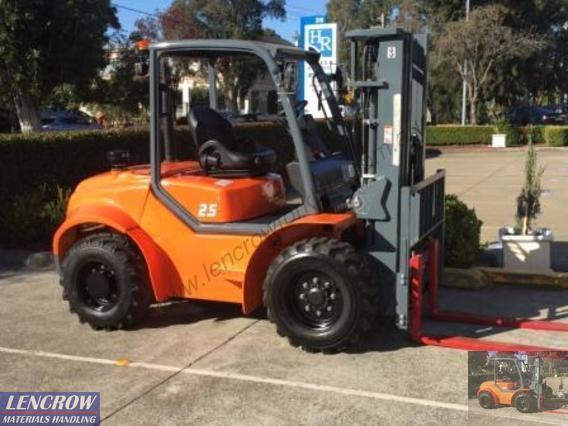 All Terrain Forklift RT Series