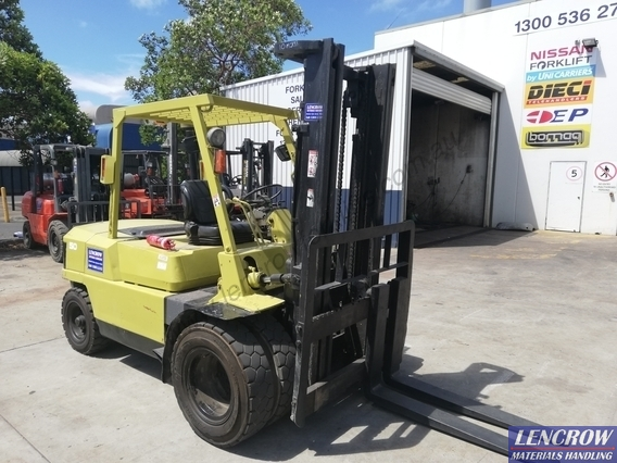 Used 5 000 kgs Mitsubishi Diesel Forklift