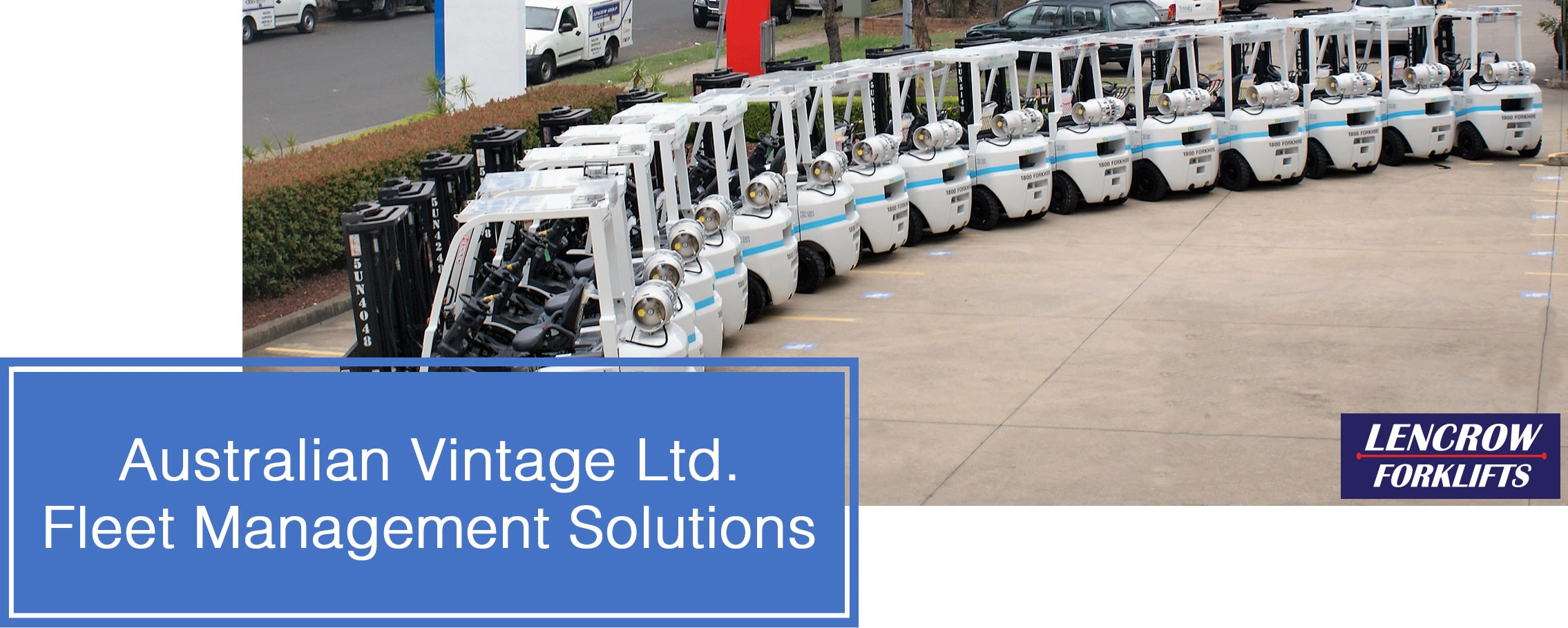 Australian Vintage Ltd. Fleet Management Solutions