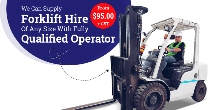 Forklift Hire Driver