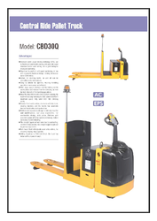 Xilin Heavy Duty Ride On Pallet Jack CBD30Q Catalogue
