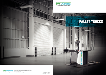 Pallet Mover by UniCarriers