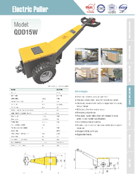 Xilin Electric Puller QDD15W Catalogue