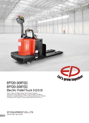 Heavy Pallet Truck - Electric Ride On