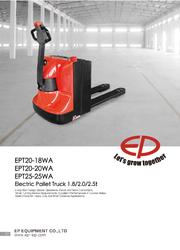 Sales Brochure - EPT20-18WA - 25WA