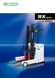 Unicarrier 1T - 3T Stand on Reach truck - Sales