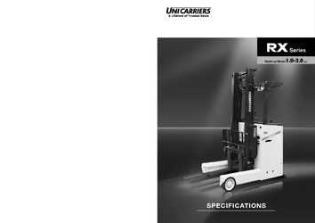 Unicarrier 1T - 3T - Stand on Reach Truck - Spec