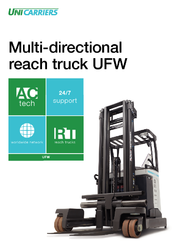 Multi Directional Reach Truck