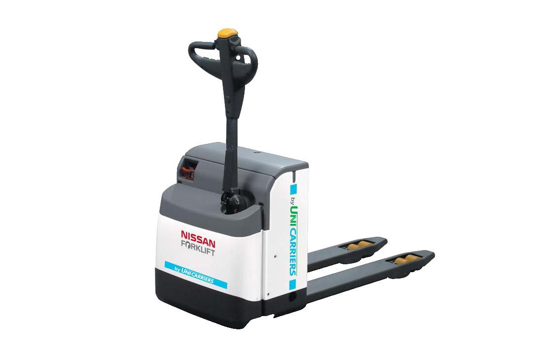 2 Ton Walk Behind Pallet Stacker Electric Forklift Price 1: Nissan Walk Behind Electric Pallet Truck PLL145 At Lencrow