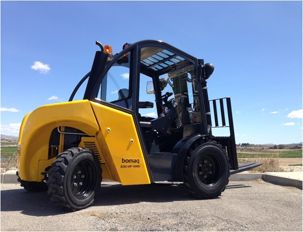 The Bomaq MP Series Forklift