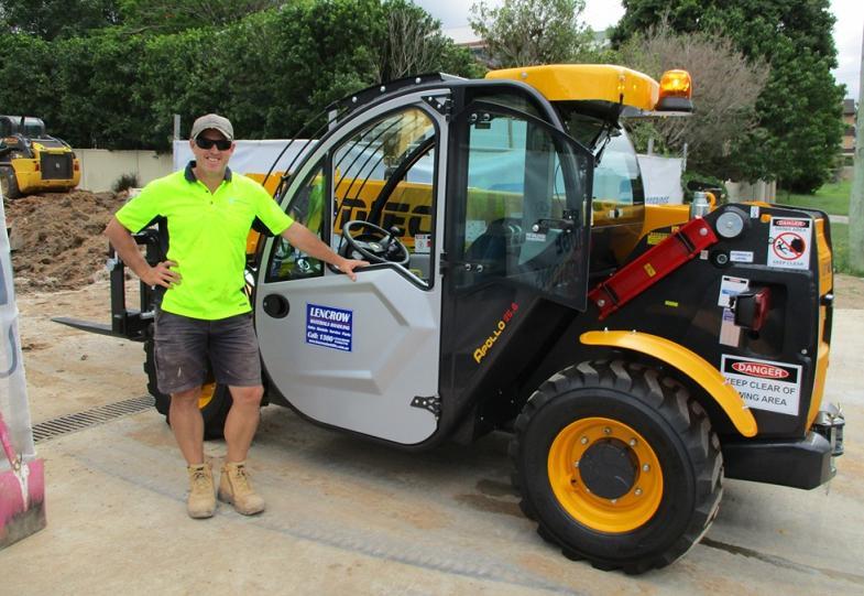 Construction Telehandler Australia