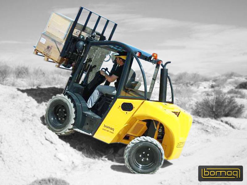 Bomaq - Mast Type Terrain Forklifts