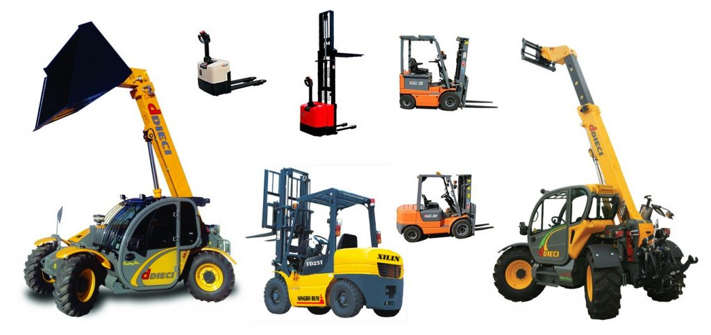 Different Types of Forklift and Their Common Use