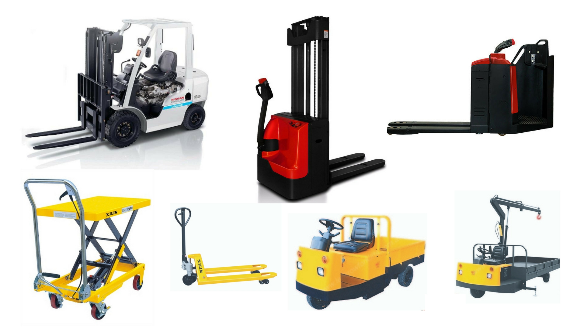 Transport Equipment Used in Warehouse for Material Handling