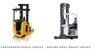 Pantograph Reach Trucks And Moving Mast Reach Trucks