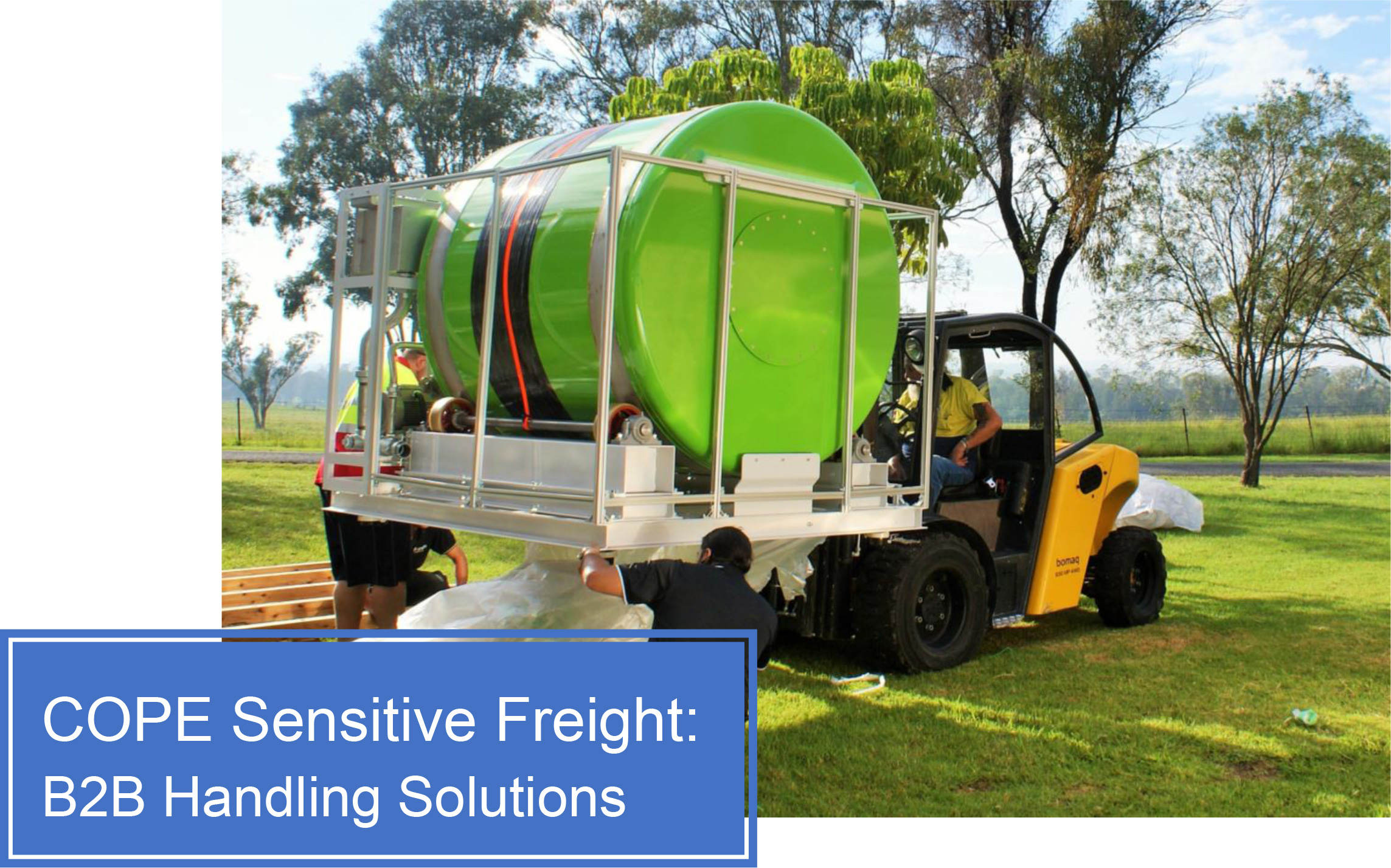 COPE Sensitive Freight: B2B Handling Solutions